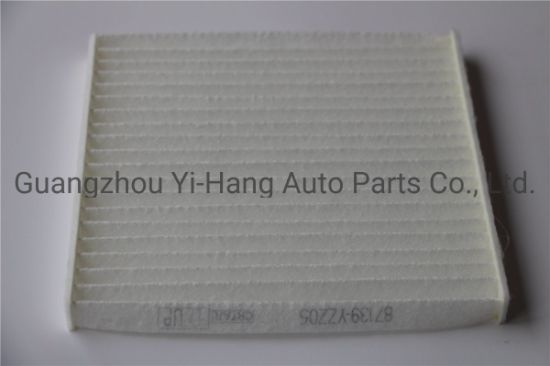 Automotive Air Conditioning Cabin Filter 87139-Yzz05/87139-47010 Car Filter