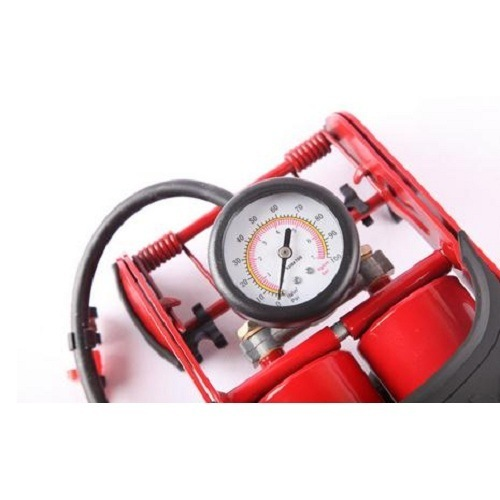 High Pressure Foot Pump with Pressure Gauge Foot for Car pictures & photos