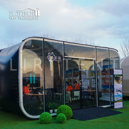 6m Modern Modular Glamping Capsule Box Hotel Tents for Sale