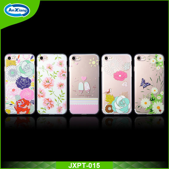 Hot Sale Design DIY Printing Cell Phone Case for iPhone 7