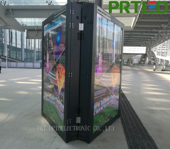 Customized Double-Sided Outdoor SMD2727 Roadside Advertising LED Sign (P5, P6) pictures & photos