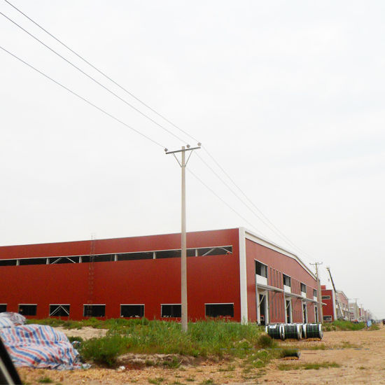 Light Type Industrial Construction Low Cost Prefabricated Warehouses Steel Structure pictures & photos