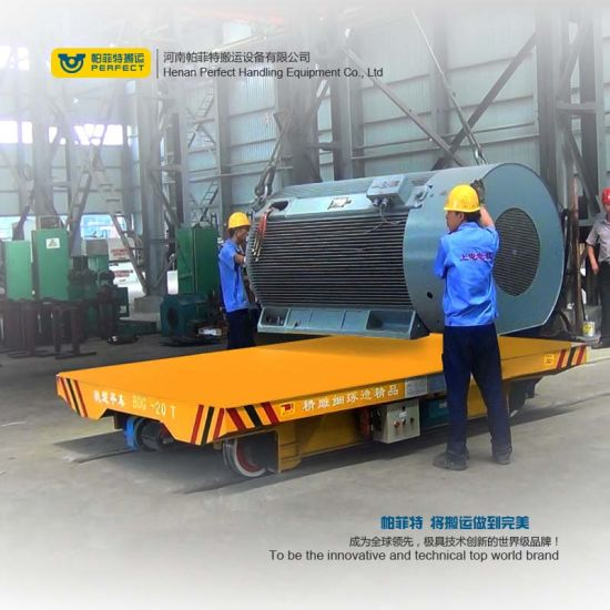 Machinery Transport Trolley for Machine Manufacturing Industry pictures & photos