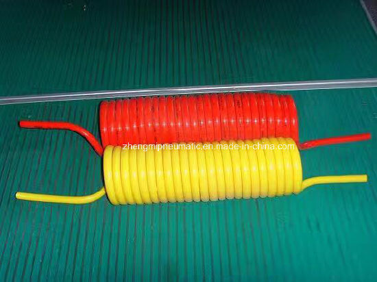 Color PU Recoil Hose (16*11mm, 15M) pictures & photos