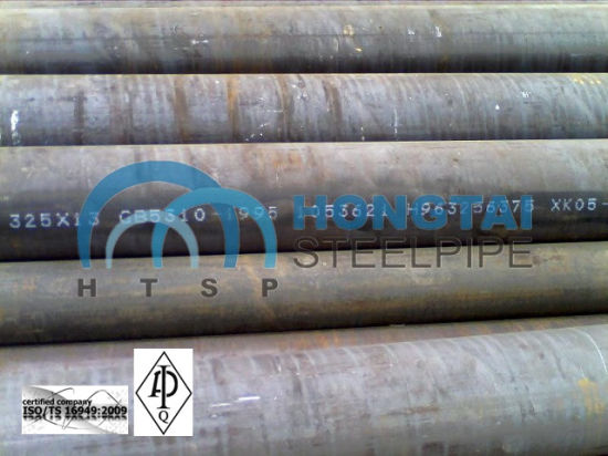 with API Monogram Certificate License Hot Rolled ASTM A53 Gr B Seamless Steel Pipe pictures & photos