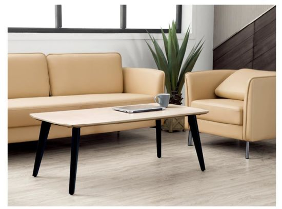 Simple Elegant Home Office Furniture Wood Sofa Square Coffee Table Kl 401