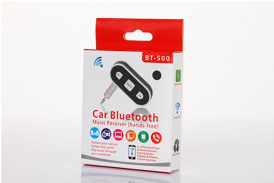 Universal 3.5mm Car Wireless Bluetooth Music Receiver Adapter Streaming A2dp Kit for Phone MP3 pictures & photos