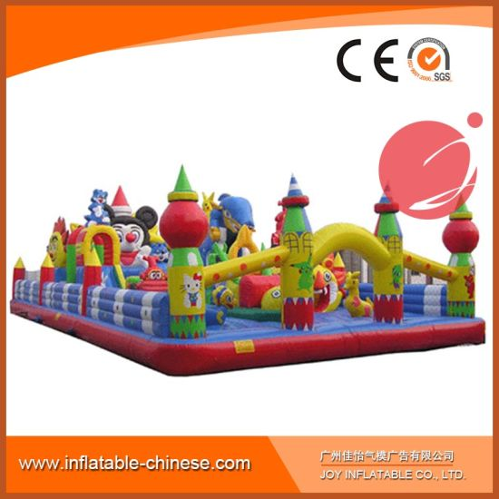 Inflatable Amusement Park Bouncer for Kids Toy (T6-041) pictures & photos