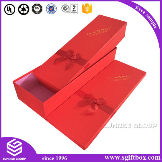 Customized Luxury Paper Gift Packaging Square Rectangle Flower Box pictures & photos