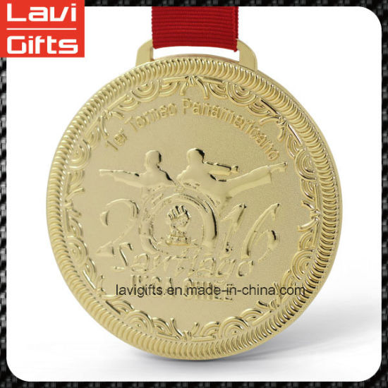 Top Quality Gold Plating Custom Metal Medal pictures & photos