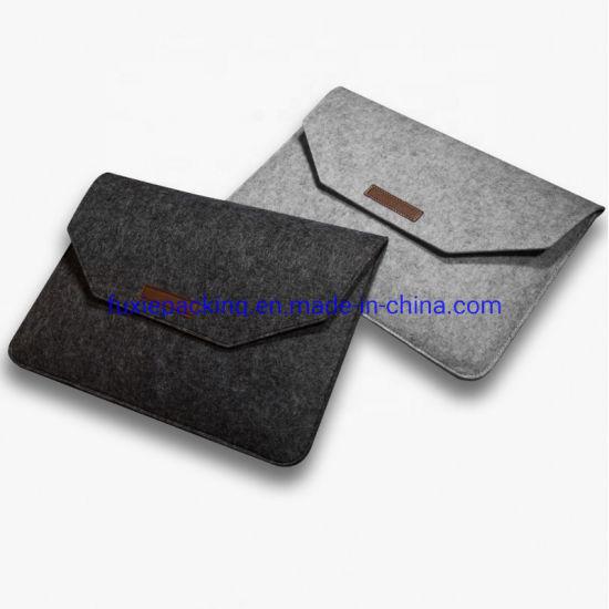 Business Fashion Custom Size Felt Laptop Computer Bag