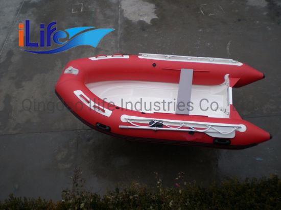 Ilife High Quality Wholesale Rigid Inflatable Fiberglass Hull Rib Boats