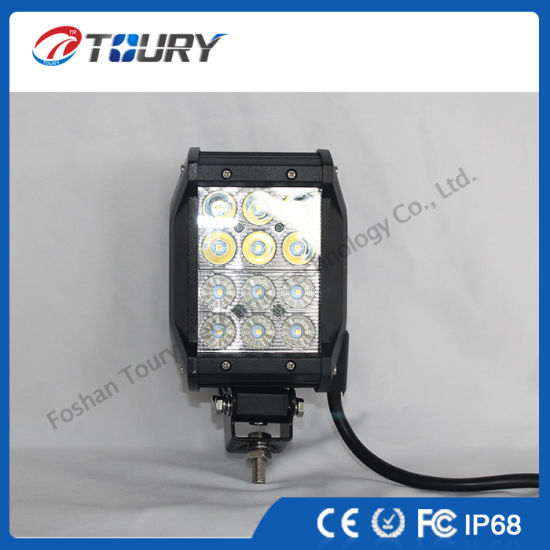 36W LED Work Lamp Offroad LED Light Bars for Jeep