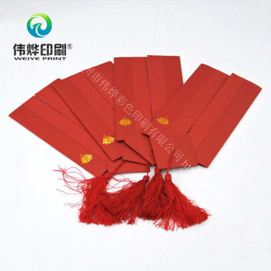 Customized with High Quality Printing Red Wedding Invitation Card pictures & photos