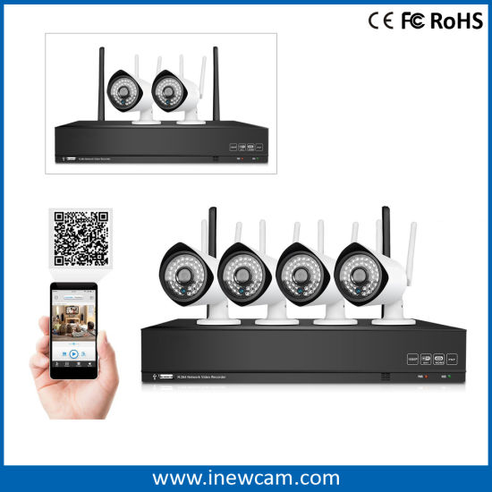 1080P P2p CCTV Wireless IP Camera with FCC Certification pictures & photos