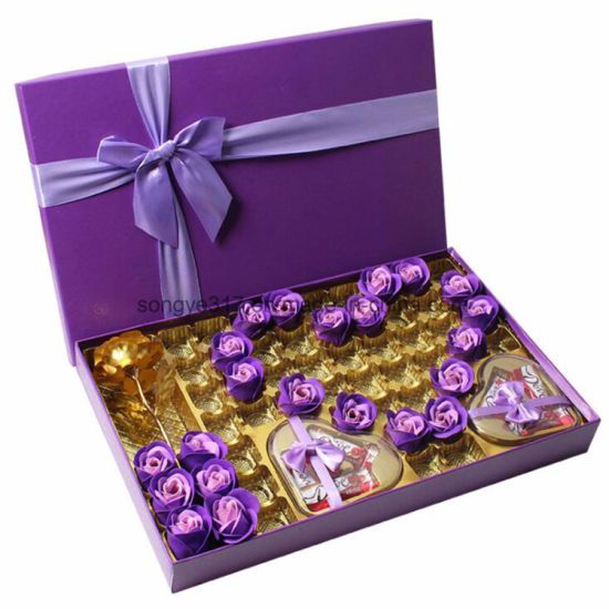 Creative DIY Birthday Gift Box For Chocolate Candy Packaging