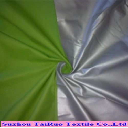 100% Poly Taffeta with Silver Coating Fabric for Outdoor Fabric pictures & photos