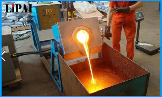 Germany Infineon IGBT Induction Melting Furnace Copper Steel Aliminum pictures & photos