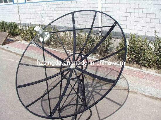 Mesh C Band 210cm Satellite Dish Antenna pictures & photos