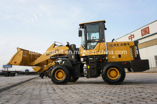 Hydraulic Wheel Loader Mini Front Loader Small Dumper Zl20 pictures & photos