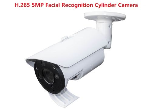 Fsan 5MP IR Infrared Face Recognition Detector Metal Bullet Surveillance IP Camera