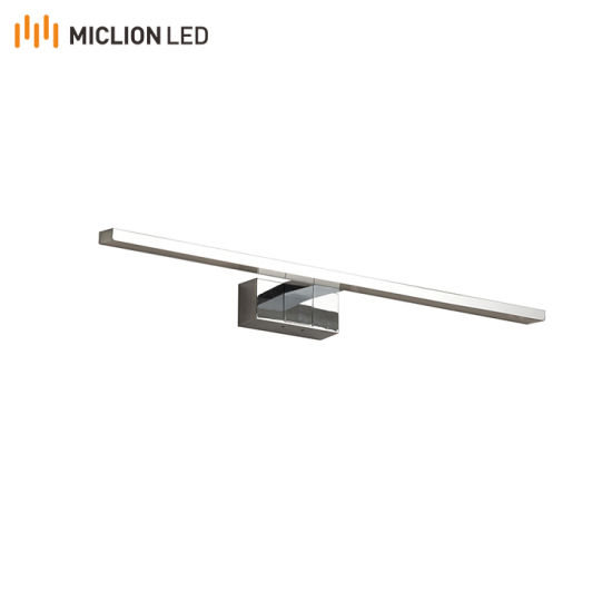 Manufacturer for Modern Gallery Hotel Wall Sconce Chorme Finish LED Light with IP44