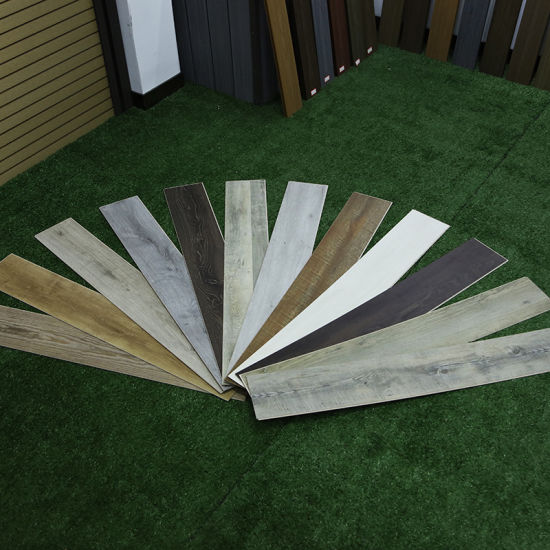 100% Recycled Premium Rigid Solid Polymer Core Spc Vinyl Flooring
