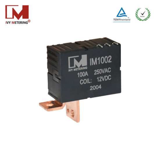 Intelligent 100A 9VDC Magnetic Latching Relay with CT/PCB/Shunt/Terminal