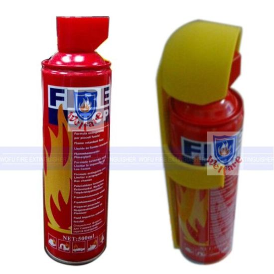 China 500ml Mini Car Foam Fire Stop Fire Extinguisher Spray
