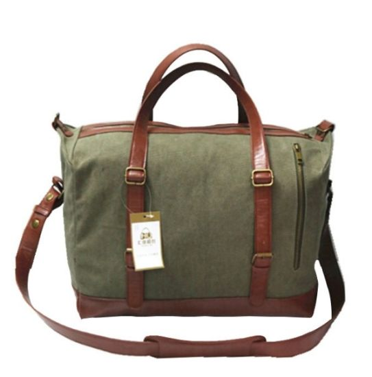 European and American Style Wear-Resistant Portable Travel Canvas Bag