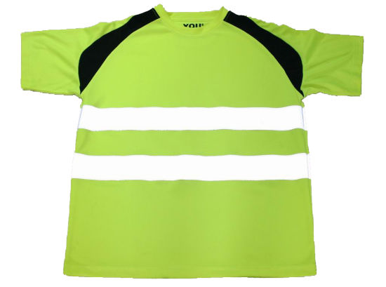 Green Reflective T-Shirt Vest