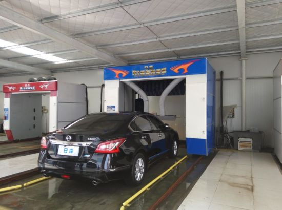 Great Running Performance Automatic Rolls Over Car Wash Machine pictures & photos