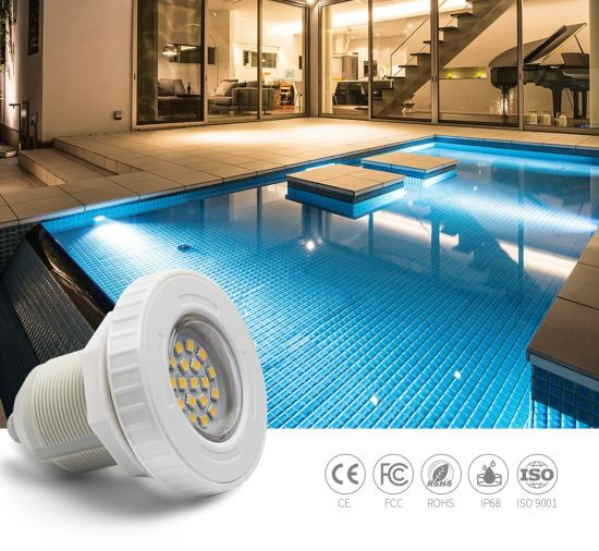 The Micro 3W 12V ABS Vinyl LED Underwater LED Swimming Pool Light