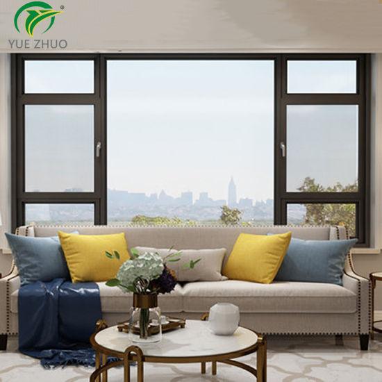 Soundproof Double Glass Outward Opening New Design Aluminum Casement Window
