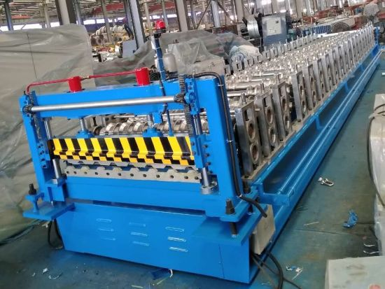 YX32-333-1000 Metal Roof Panel Cold Roll Forming Machine with High Speed