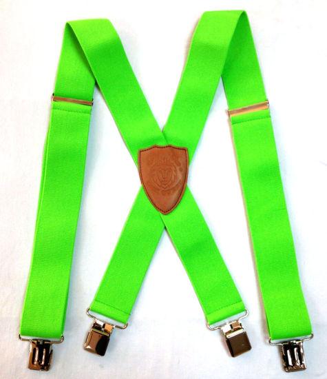 Heavy-Duty Suspenders, Work Suspenders, Braces (SUS-HD50NG)