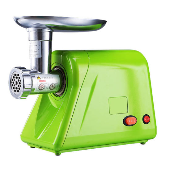 Electrical Stainless Steel Green Meat Grinder