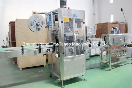 Automatic Pet Bottle Shrink Label Packaging Labeller Machinery