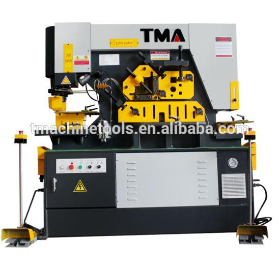 Q35y-50 Series Hydraulic Ironworker Machine, Sheet Metal Iron Worker