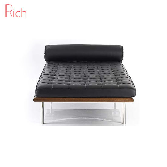 Awe Inspiring Office Hotel Living Room Modern Classic Barcelona Chaise Lounge Day Bed Replica Barcelone Bed Leather Pu Bed Dailytribune Chair Design For Home Dailytribuneorg
