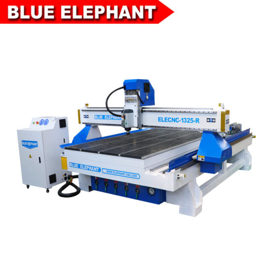 Cheaper 1325 4 Axis Wood Cutting Machine CNC Router with Rotation Axis