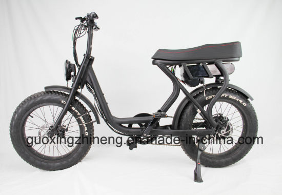 20 Inch Fat Tyre Beach Cruiser Electric Bike, E-Bike with 6 Speed pictures & photos