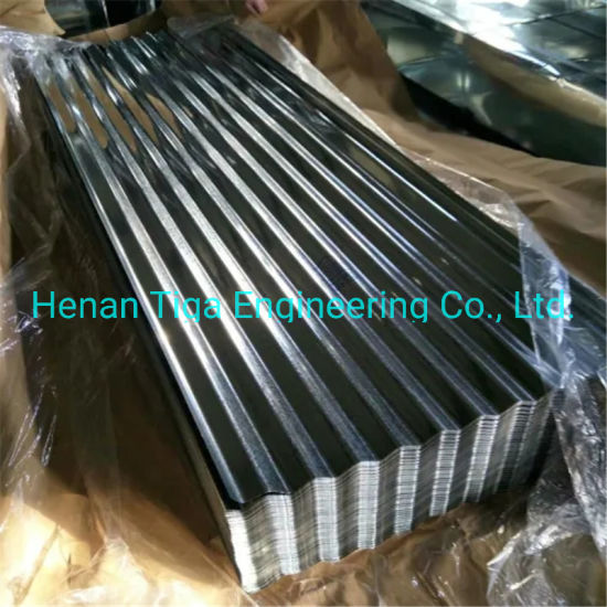 China Factory Hot Dipped Galvanized Corrugated Steel Roofing Iron Sheet