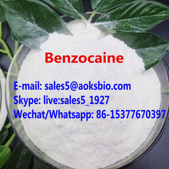 Benzocaine CAS 94-09-7 Benzocaine HCl Benzocaine Powder with Lowest Price