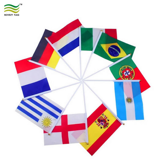 Wholesale Hand Custom Country Flag (NF01F02020) pictures & photos