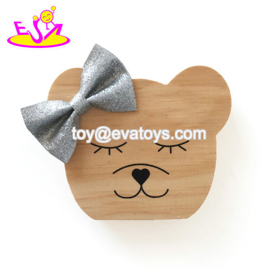 Most Popular Animal Shape Wooden Kids Wall Decor with Low Price W02A362
