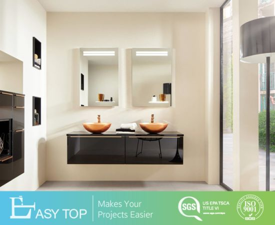 Modern Paiting High Gloss Bathroom Vanity with Mirror Cabinet