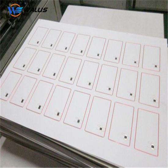 Premium RFID A4 2*5 Tk4100 Plastic PVC Printed Blank White Smart RFID Inlay Sheet for Card Making