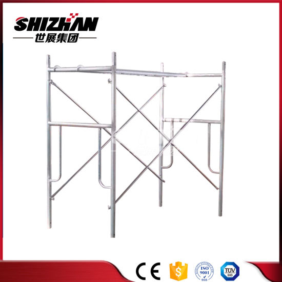 China Scaffolding material Construction Steel Electric a Frame ...