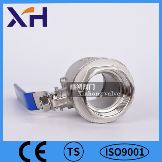 304 Stainless Steel 2PC Ball Valve Dn40 Manufacture in China pictures & photos